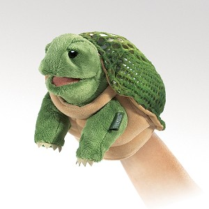 Little Turtle Puppet by Folkmanis