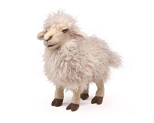 Long Wool Sheep Puppet by Folkmanis 2982