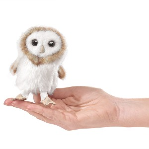 Barn Owl Finger Puppet by Folkmanis