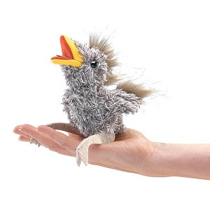 Baby Bird Finger Puppet by Folkmanis Dis.