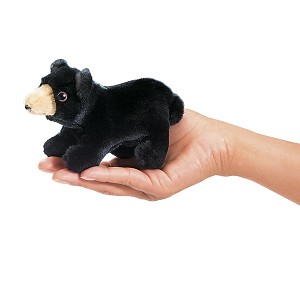 Black Bear Finger Puppets by Folkmanis