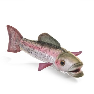 Rainbow Trout Finger Puppet by Folkmanis Puppets 2788
