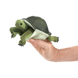 Turtle Finger Puppet by Folkmanis