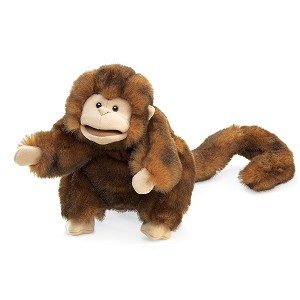 Monkey Hand Puppet by Folkmanis
