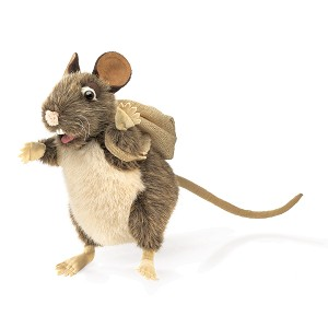 Pack Rat Puppet with Backpack by Folkmanis 2847