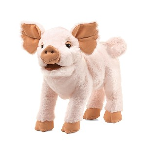 Piglet Pig Puppet by Folkmanis 2949