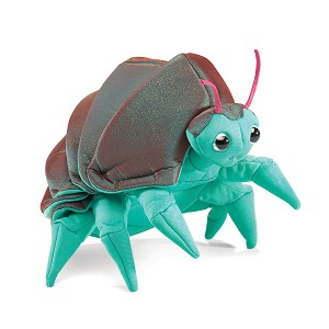 Pill Bug Puppet by Folkmanis Disc.