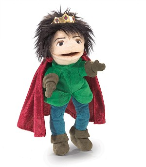 Royal Prince Hand Puppet by Folkmanis Disc