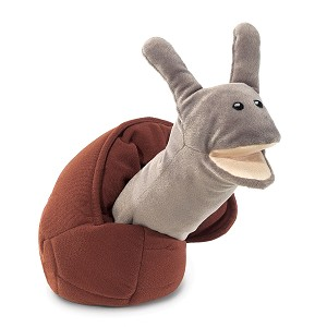 Snail Hand Puppet by Folkmanis