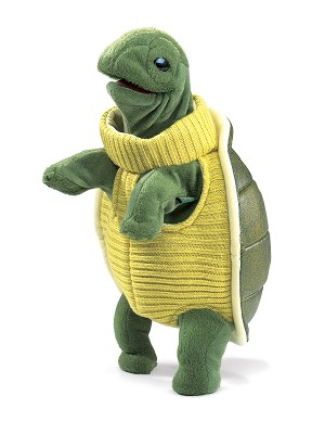 Turtleneck Turtle Hand Puppet by Folkmanis  2881