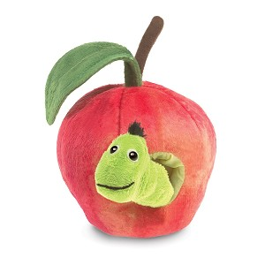 Worm in Apple Hand Puppet by Folkmanis 3123
