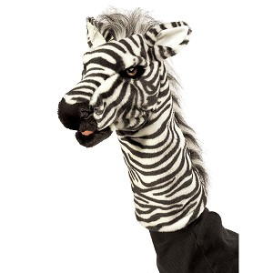 Zebra Stage Puppet by Folkmanis