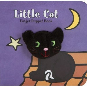 Little Cat Board Book with Cat inger Puppet