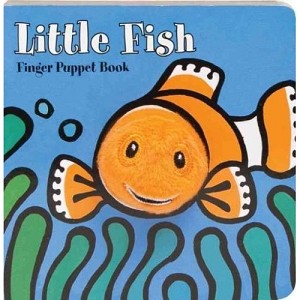 Little Fish Board Book with Fish Finger Puppet