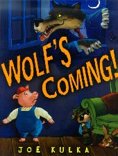 Wolf's Coming hardcover book
